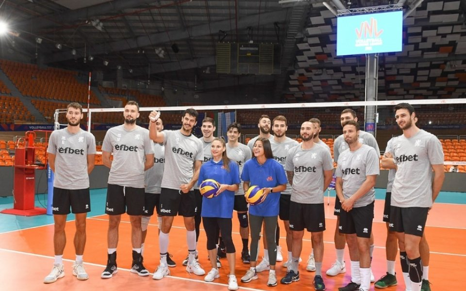 Любимци на феновете от националния отбор на България по волейбол