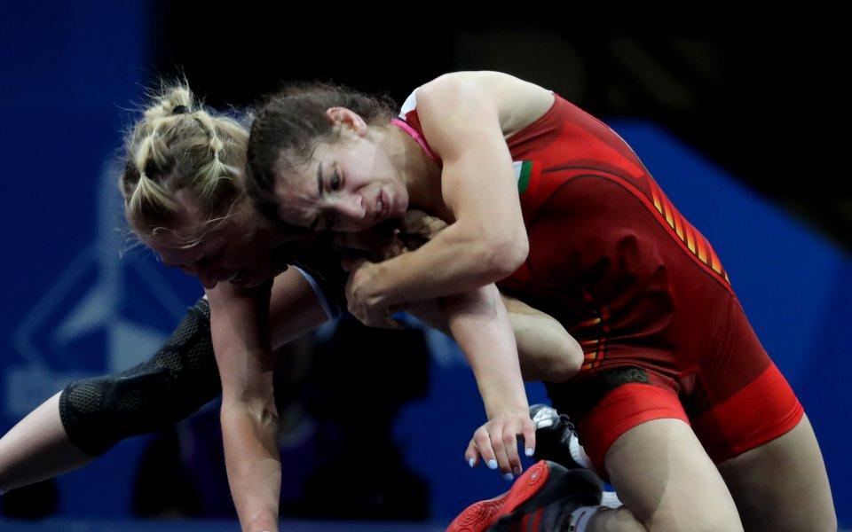 Европейската шампионка Миглена Селишка спечели сребърен медал в категория до
