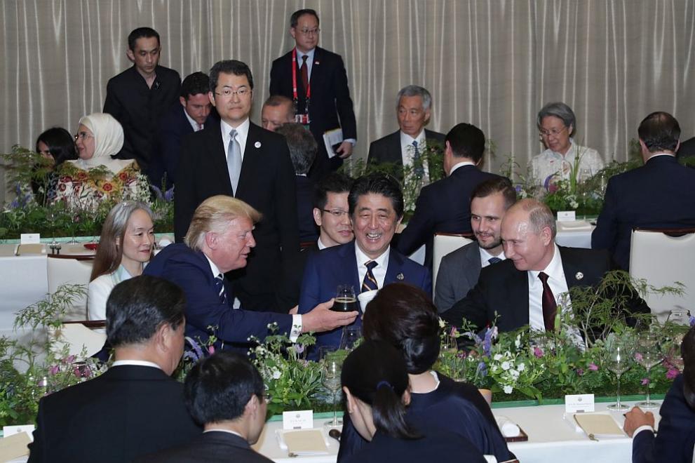 Вечеря за лидерите на Г20 в Осака
