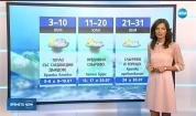 Прогноза за времето (28.06.2019 - централна емисия)