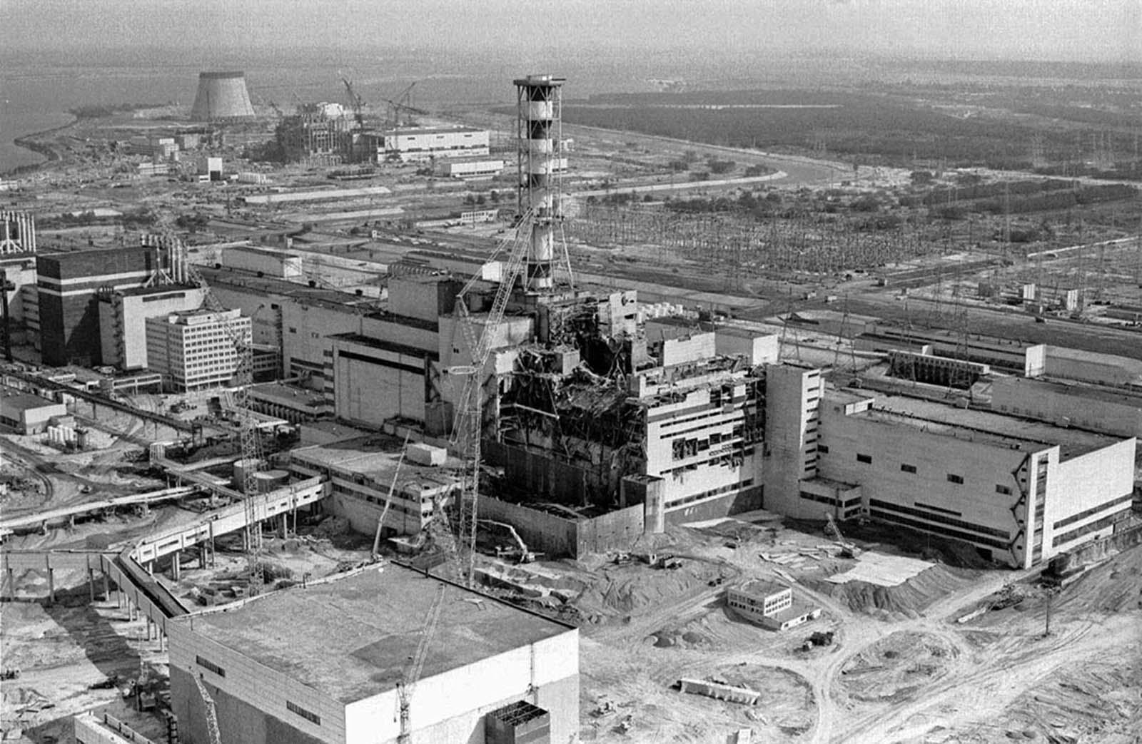 1986: Чернобилската авария в редки снимки - Фото галерии | Vesti.bg