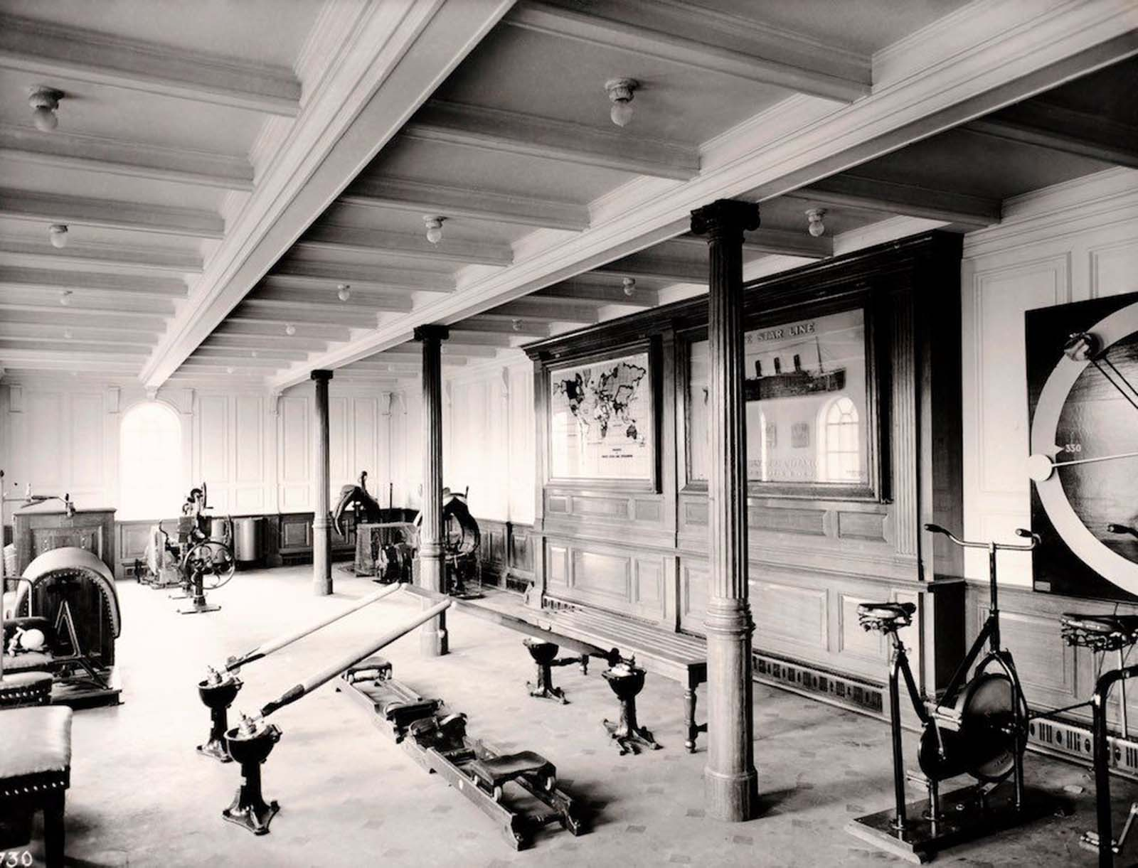 "1912: Фитнесът на ""Титаник""."