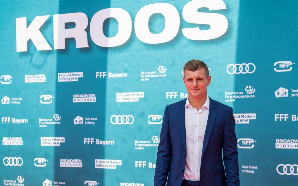 Полузащитникът на Германия Тони Кроос, който реализира два гола за