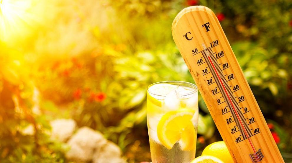 Сандански е най-горещата точка в страната - живакът...