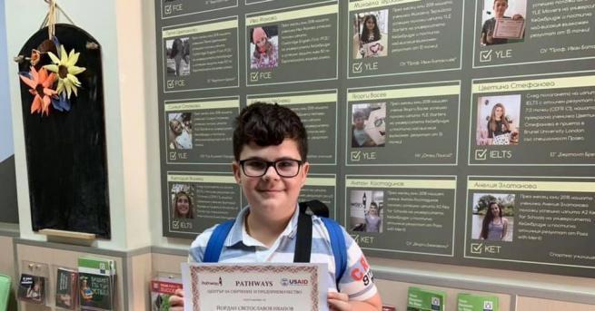 Момче от Пазарджик се явина изпитите по английски на Кеймбридж