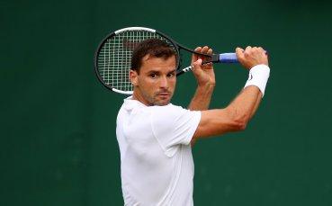 Григор загрява за US Open с Тийм