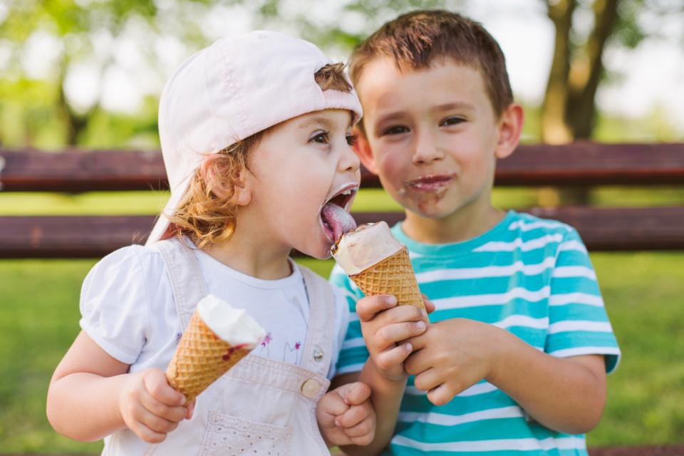 деца сладолед