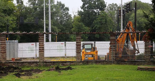 Снимка: Ремонтните дейности в столичния Западен парк са спрени