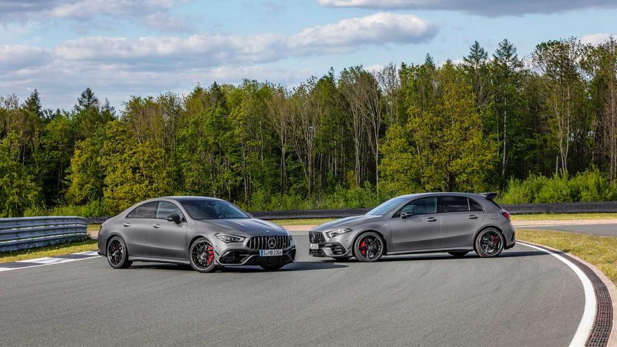 Mercedes показа най-мощните серийни 4-цилиндрови автомобили
