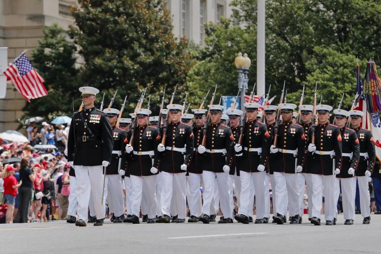 сащ военен парад