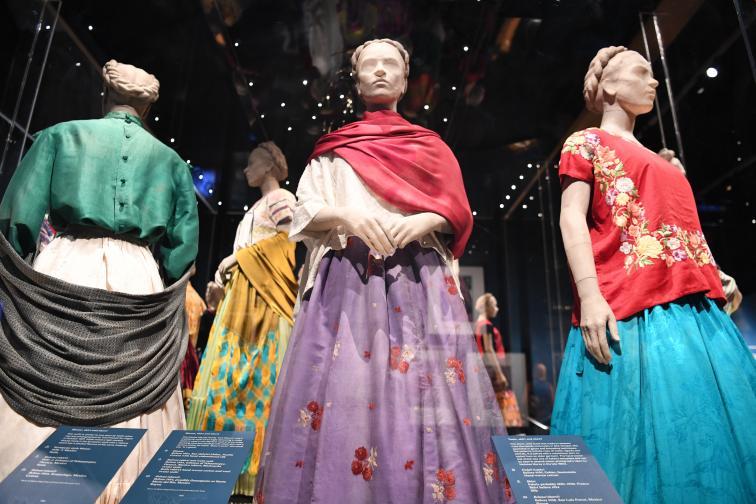Лични вещи на Фрида Кало.