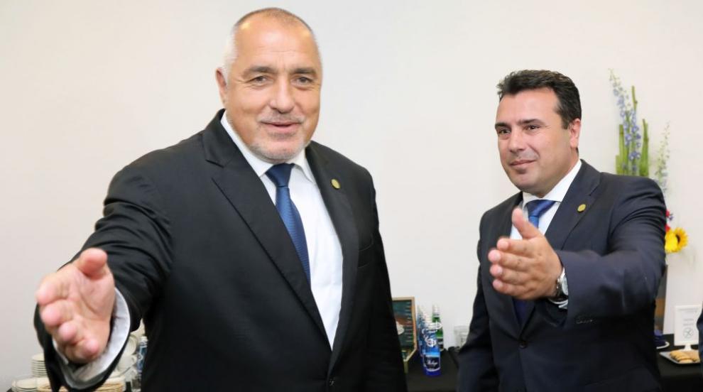 Борисов се чу по телефона със Зоран Заев
