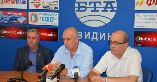 На съвместна пресконференция народният представител от ГЕРБ Владимир Тошев и