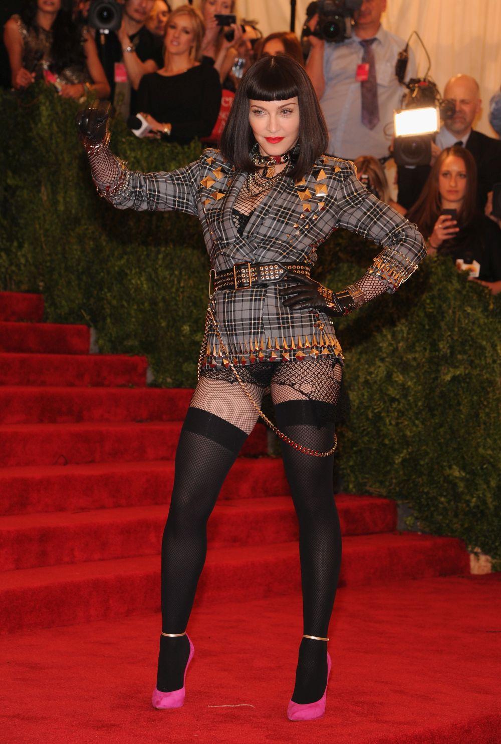 Различните лица на Мадона на Мет Гала, 2013