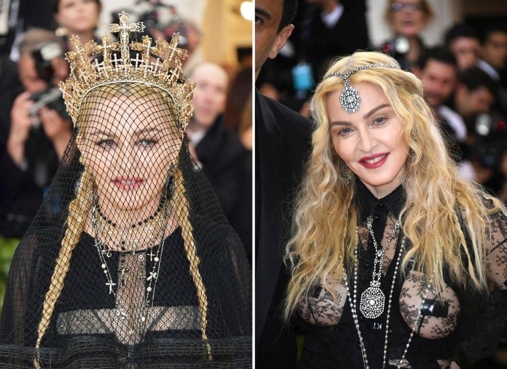 Различните лица на Мадона на Мет Гала