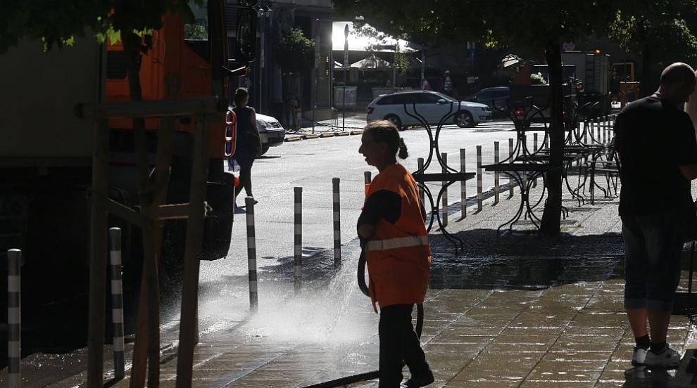 Започват да мият улиците, софиянци трябва да...