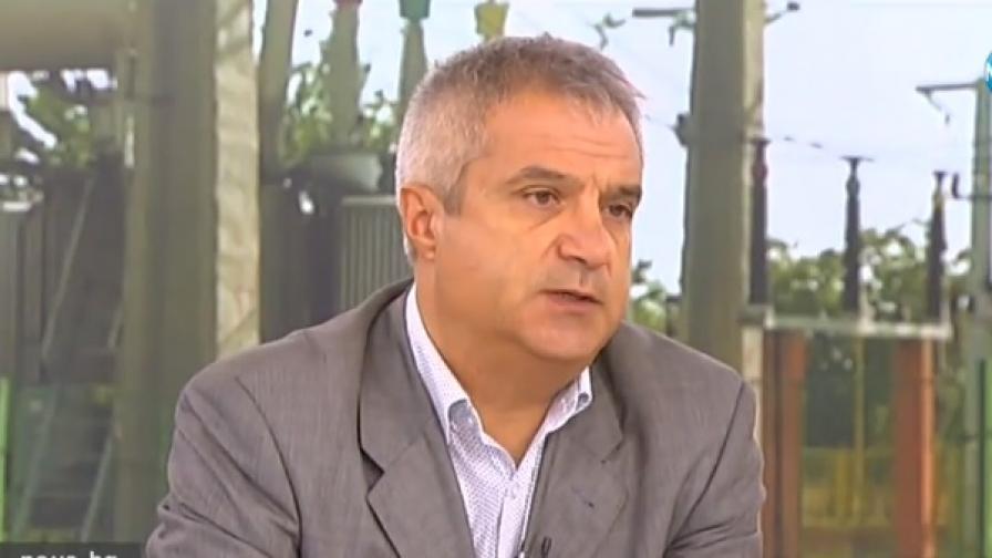 Румен Радев, заместник-председателят на Асоциацията на индустриалния капитал в България /АИКБ/