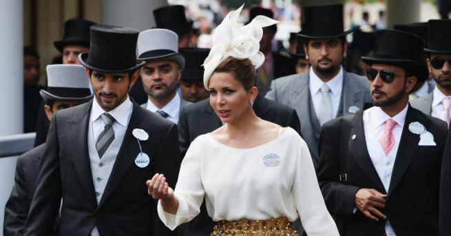 Йорданската принцеса Хая, която напусна емира на Дубай шейх Мохамед