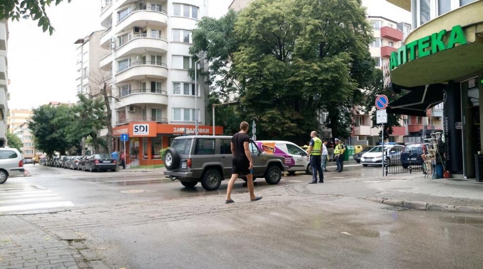 Блъснаха жена на пешеходна пътека в Благоевград