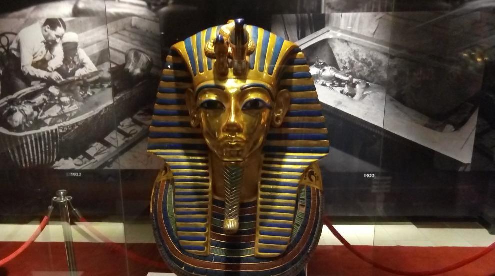 Вижте впечатляващата изложба Тутанкамон - една...