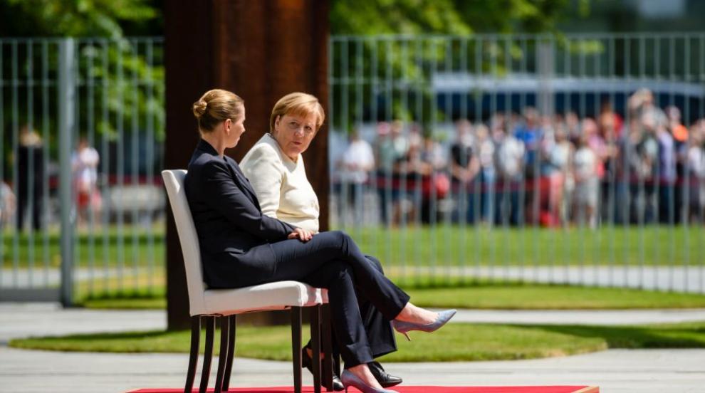 Променят протокола заради пристъпите на Меркел (СНИМКИ)