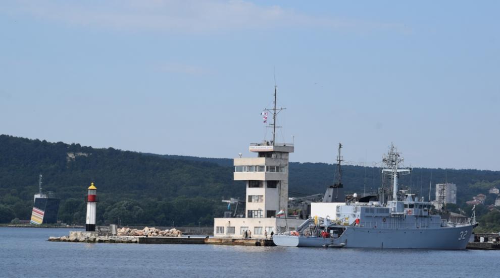 Военноморските ни сили получиха оборудване за морски тюлени