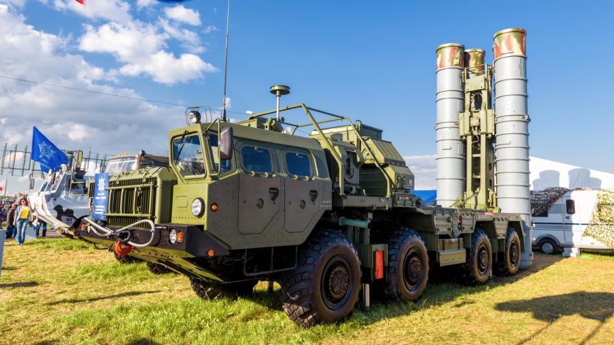 Руските зенитни системи С-400