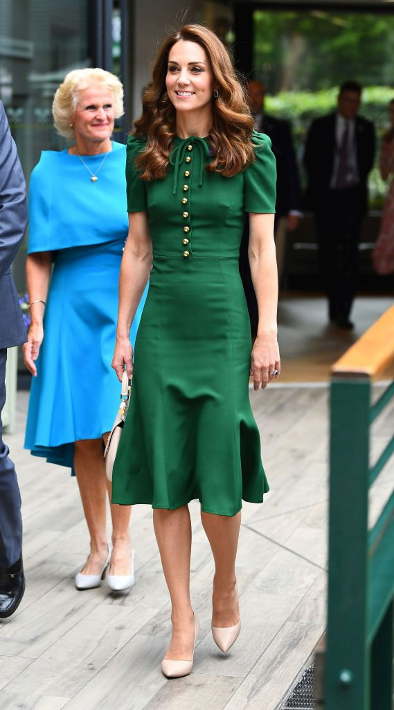 Зелената рокля на Кейт, за която всички говорят