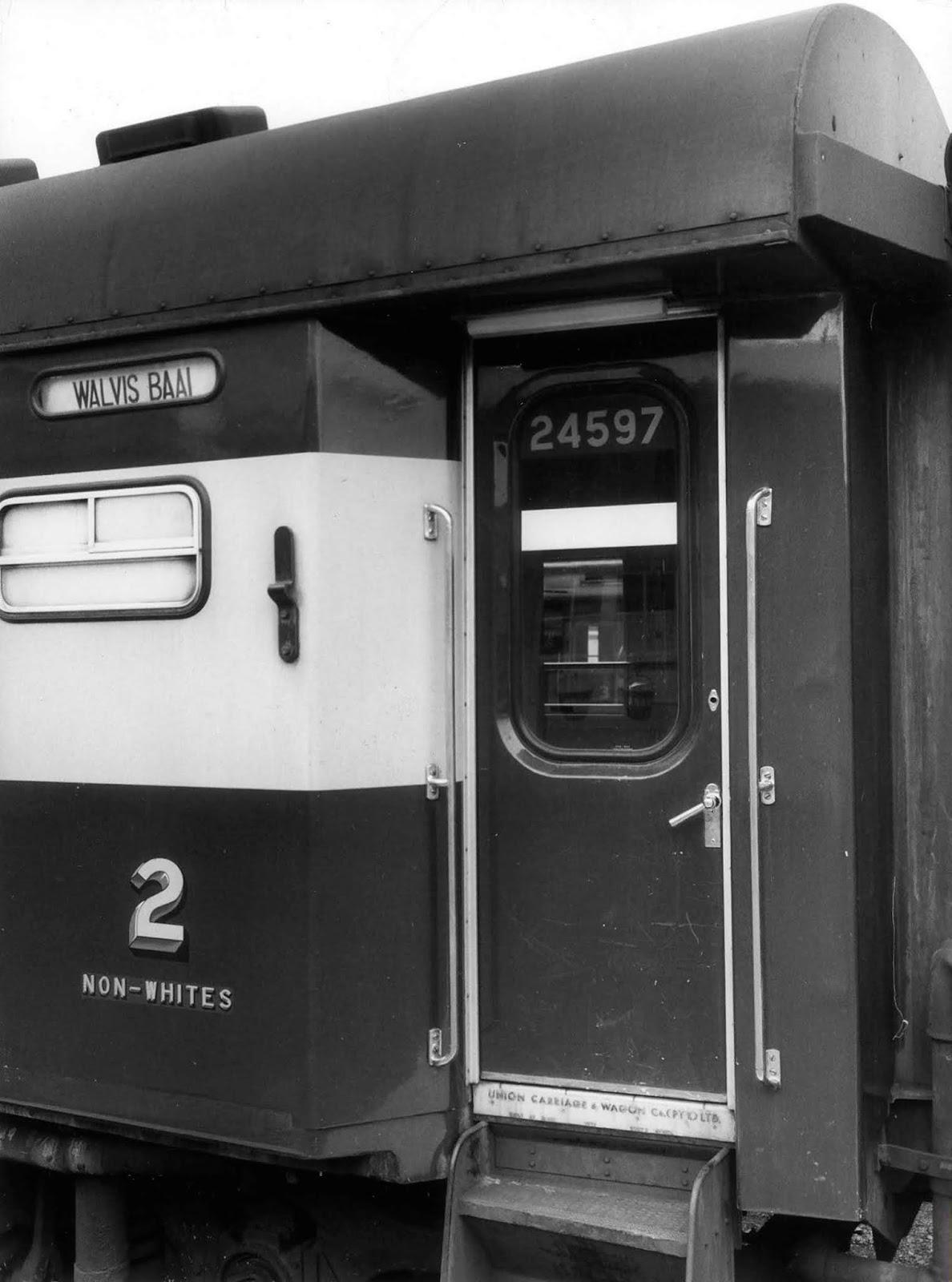 <p>1978, вагон за цветнокожи.</p>
