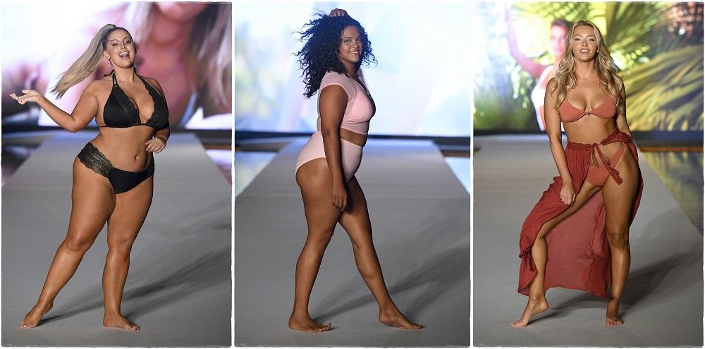 Пищни модели на бански в Маями Бийч