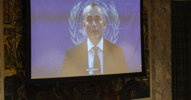 Пратеникът на ООН за Близкия изток Николай Младенов осъди призива
