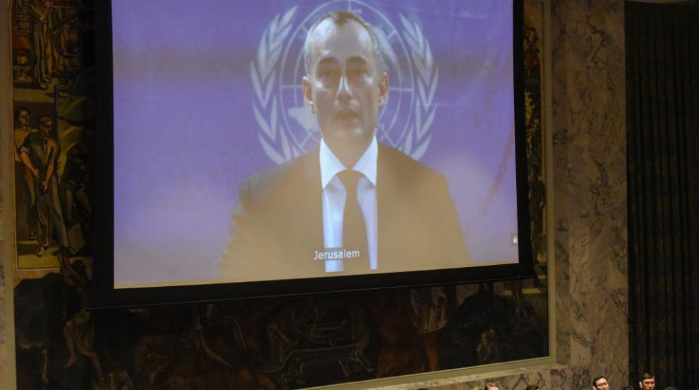 """ООН заклейми апел на член на """"Хамас"""" към палестинците по света да убиват..."""