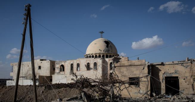 Масов гроб е бил открит край северния сирийски град Ракка,