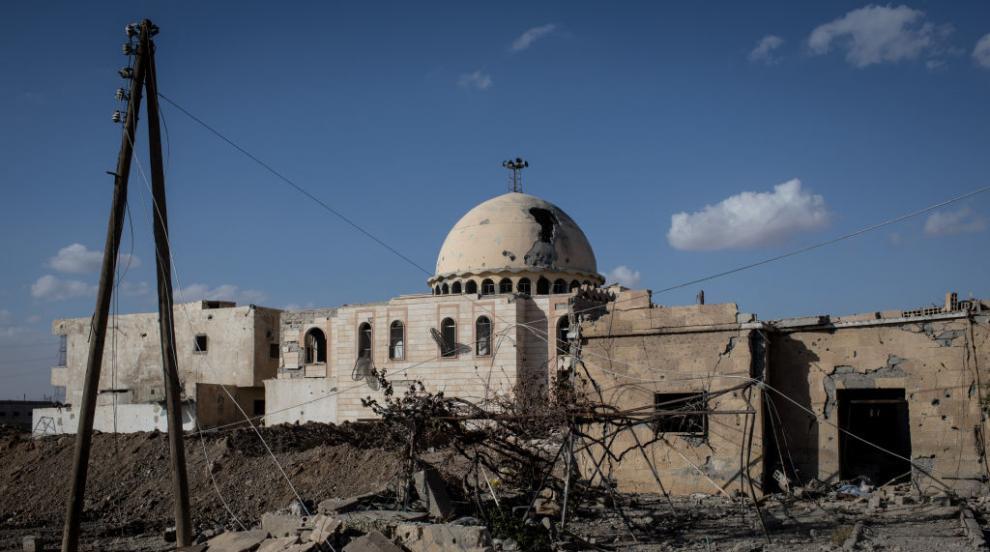 Mасов гроб с над 300 тела бе открит край сирийския град Ракка