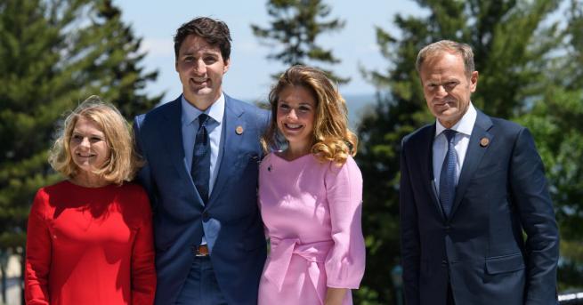Канадският премиер Джъстин Трюдо постави началото на срещата на върха