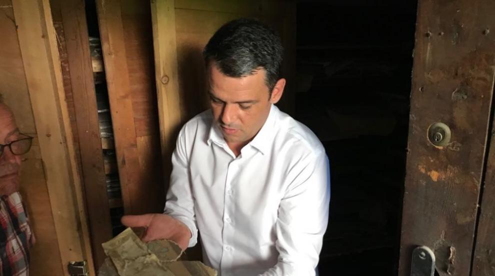 В Пловдив откриха ценни стенописи, свалени от сгради - паметници на...