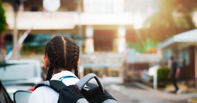 Свят Виетнамски ученици рискуват живота си, за да ходят на