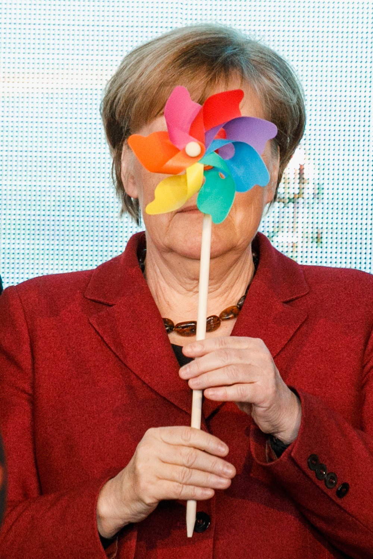 20 снимки, които са направени в точния момент и показват канцлера на Германия Ангела Меркел в различна светлина.