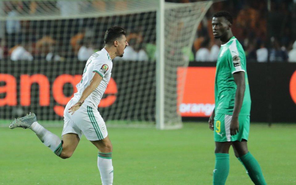 Отборът на Алжир за втори път в своята история спечели