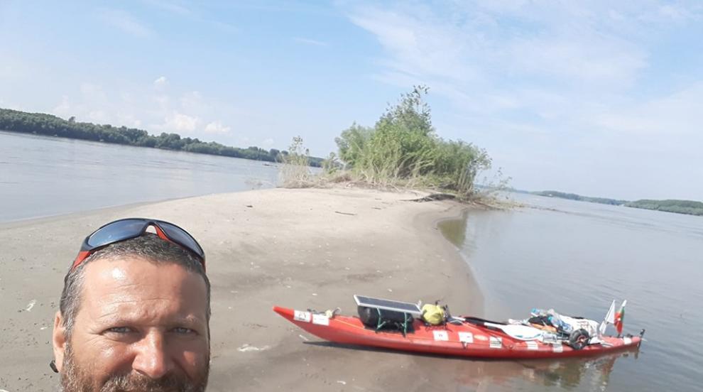 Шуменец в екстремни условия: 37 дни сам в реката (СНИМКИ/ВИДЕО)