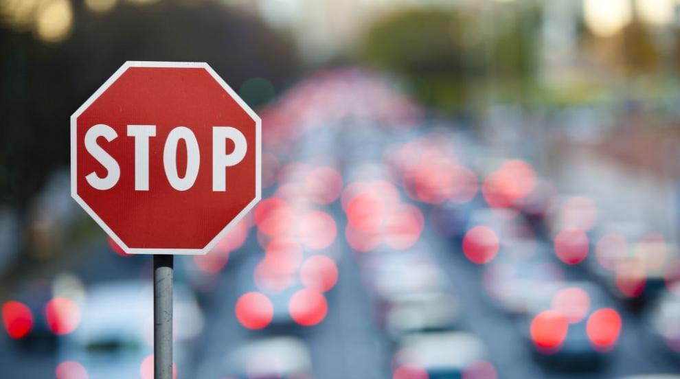 """Движение на столичния булевард """"Прага"""" е спряно"""