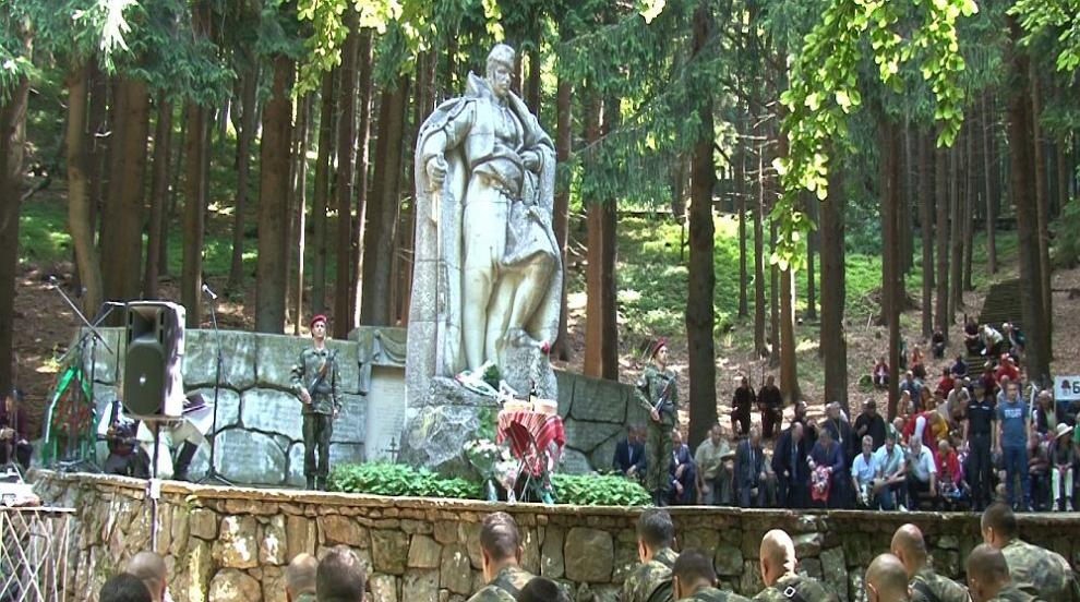 Българи от двете страни на Балкана се поклониха пред подвига на Хаджи...