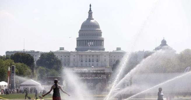 В няколко американски щата бяха поставени този уикенд температури рекорди