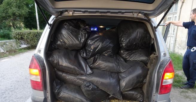 Старозагорски полицаииззеха близо 400 кг тютюн без бандерол, съобщиха от