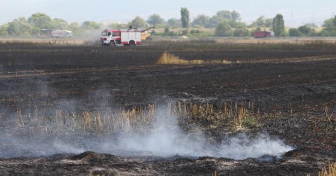 България Два пожара в София, горя и къмпинг