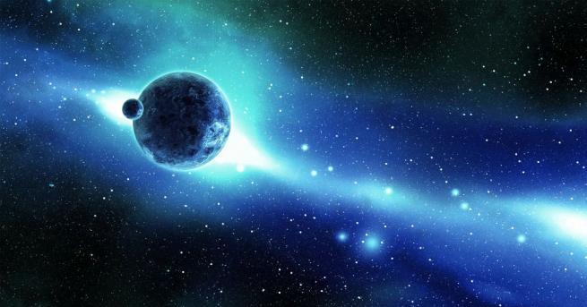Нашата галактика, в която се намират Слънцето и милиарди други