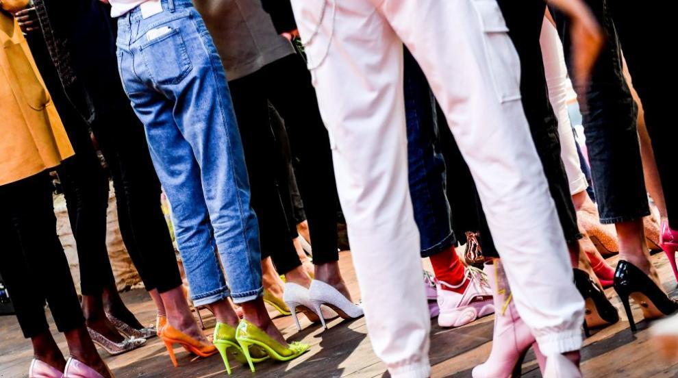 Зимният парад на модата в Плевен, наречен