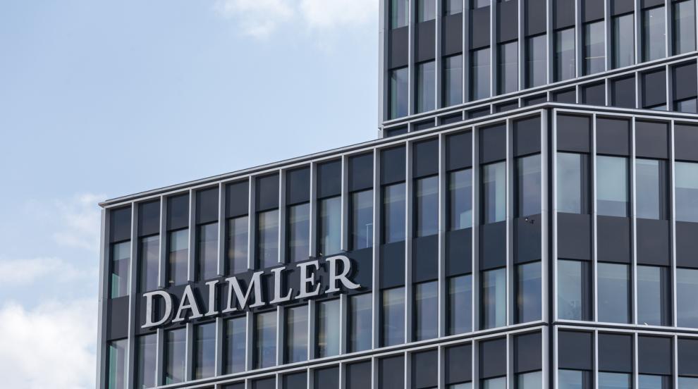Китайски компании вече имат 15% от акциите на Daimler