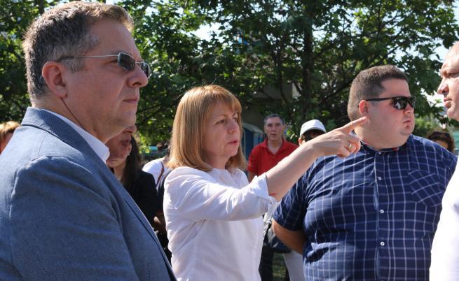 Фандъкова: Мога да покажа 100 нови детски градини на Манолова
