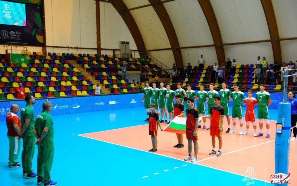 Волейболистите ни завършиха шести на фестивала в Баку